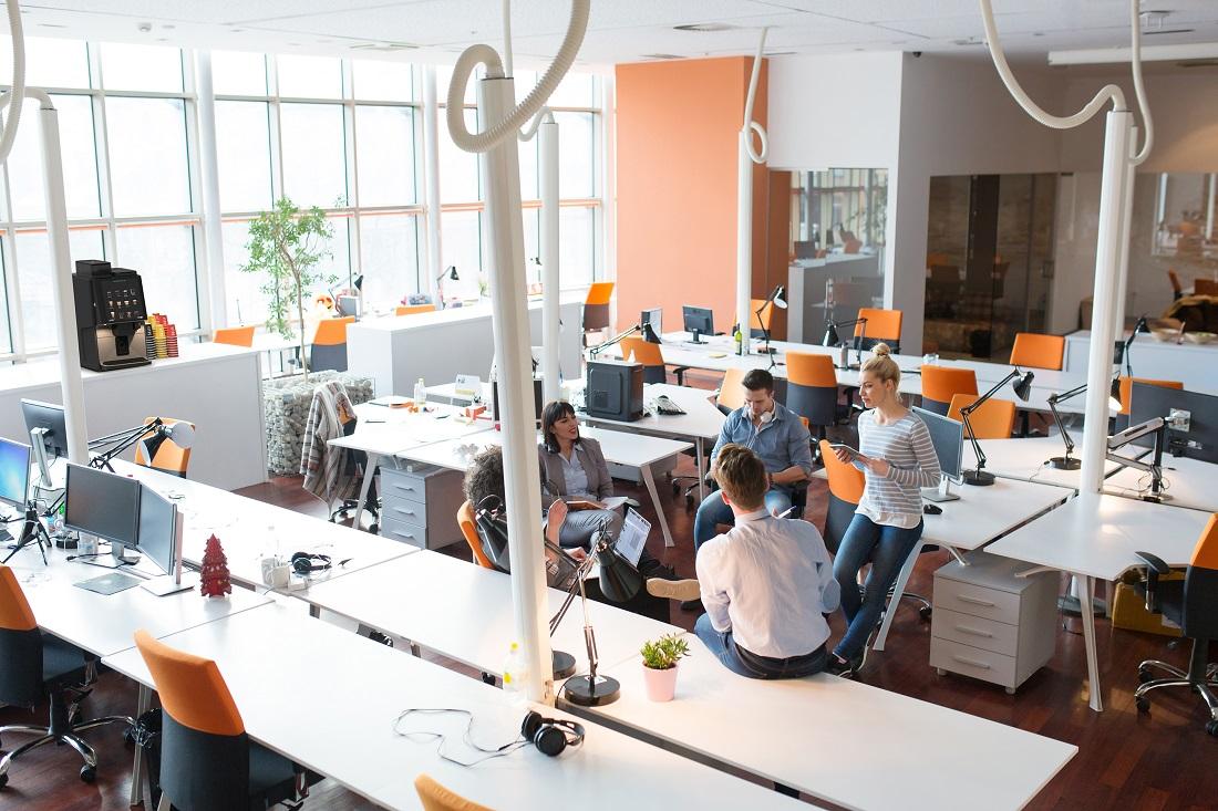 3 tipos de espacio vending para oficinas