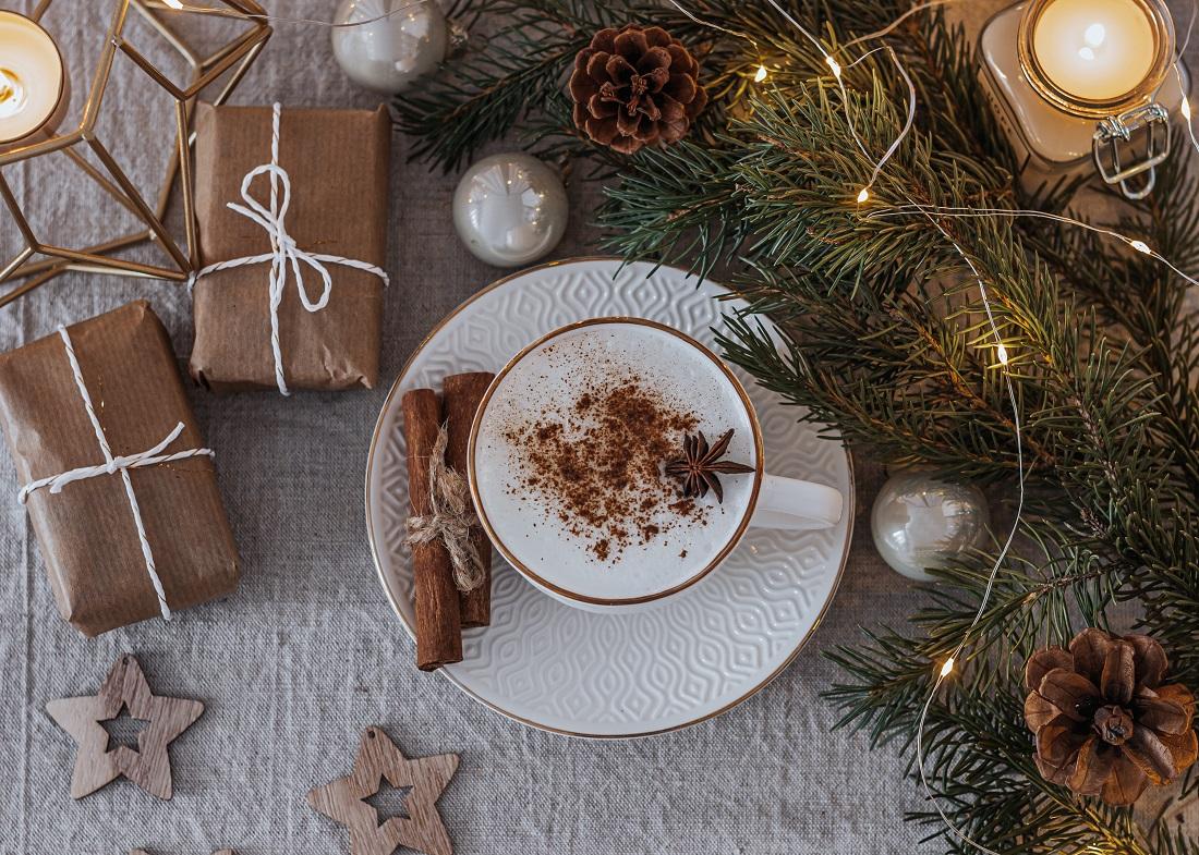 Disfruta del final de la Navidad a través del café