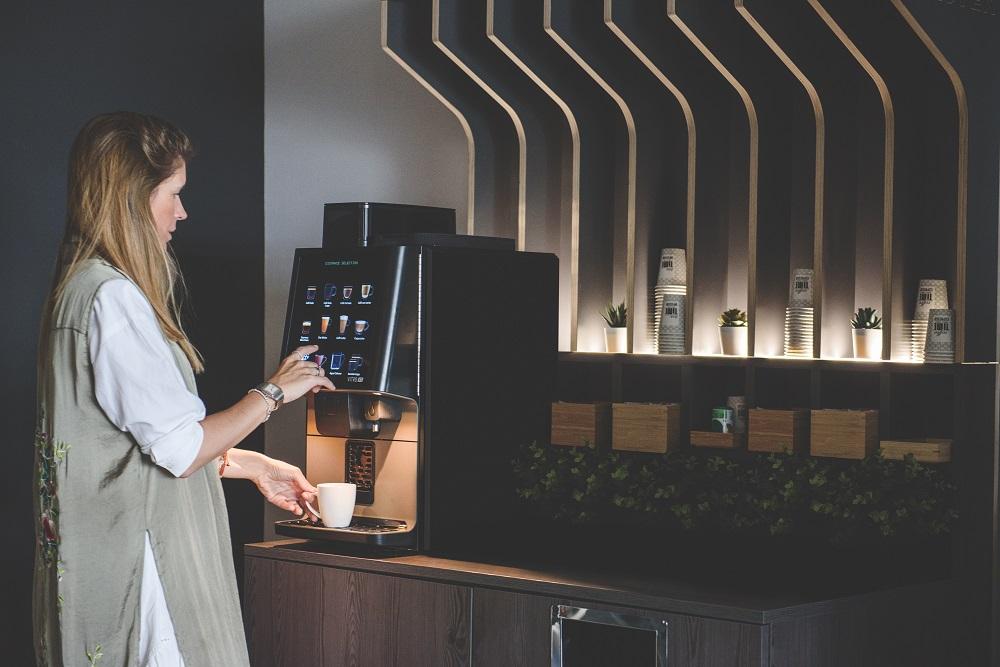 El vending acelera la tendencia de cocina sin contacto