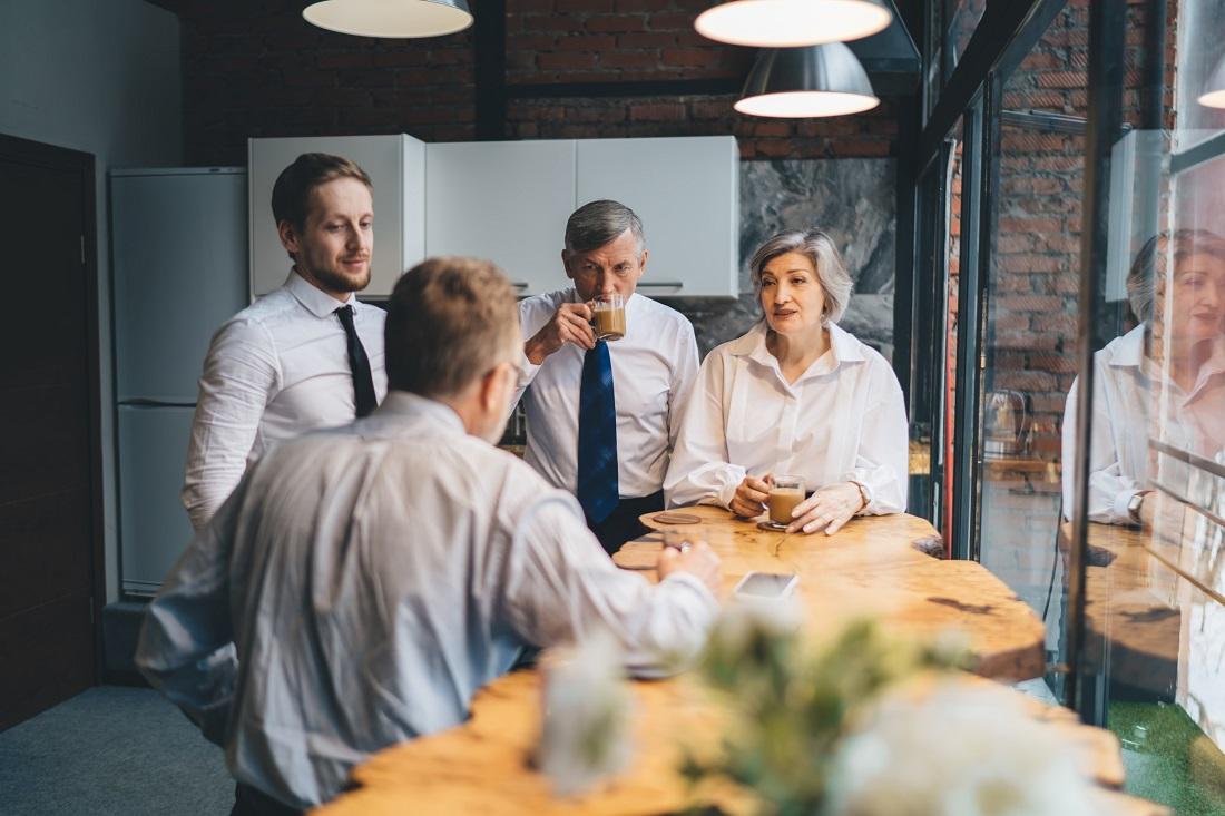 El sector empresarial se transforma y las oficinas rediseñan los espacios de café